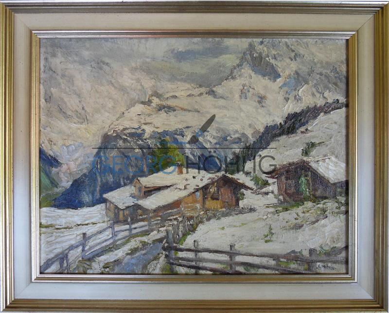 Georg Höhlig Almhütte in Tirol