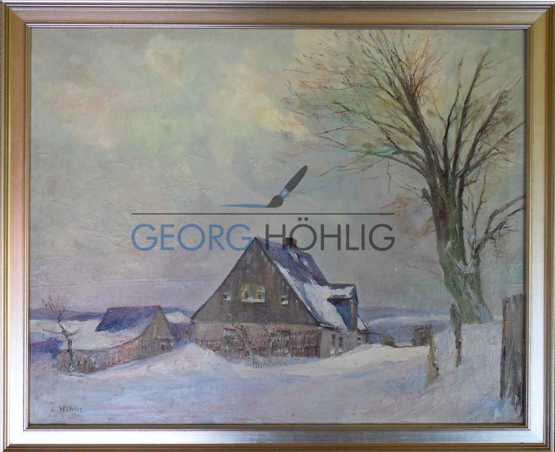 Crandorf Haus Im Winter