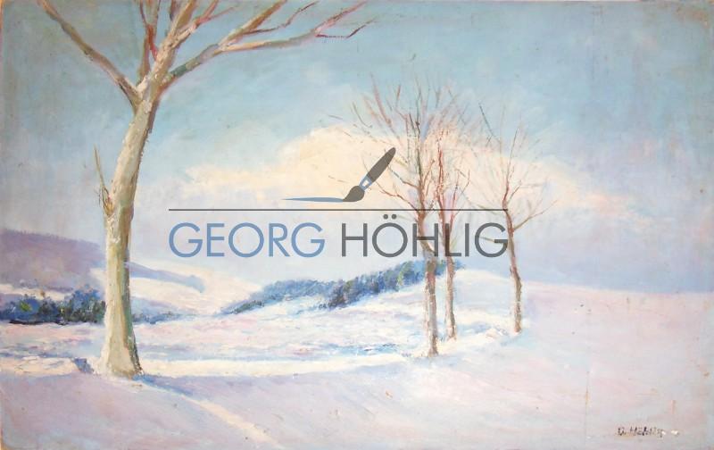 Georg Höhlig Buhrenschänke Winter