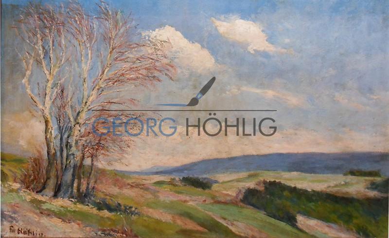 Georg Höhlig Crandorf Drachenleithe Richtung Pöhla