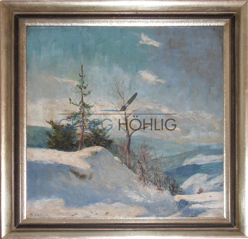 Georg Höhlig Crandorf Wachhütte im Winter
