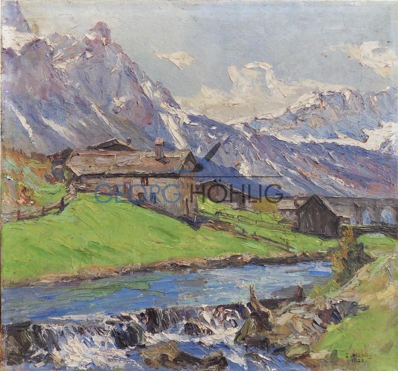 Georg Höhlig Ehrwald Tirol 1928