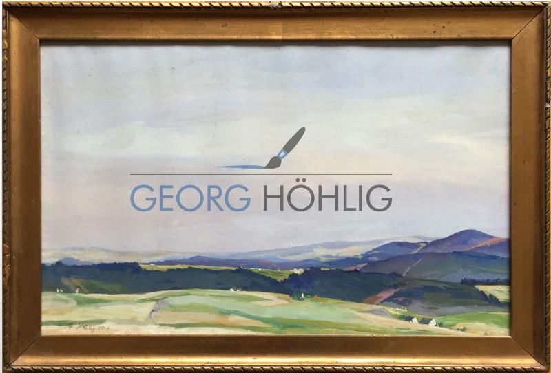 Georg Höhlig Aquarell