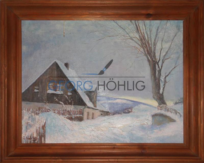 Georg Höhlig Haus Crandorf im Winter