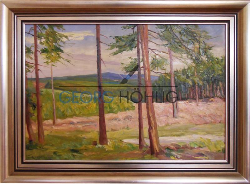 Gemälde Erzgebirge von Georg Höhlig